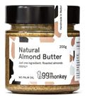 Picture of 99TH MONKEY NATURAL ALMOND BUTTER 200G