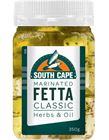 Picture of SOUTH CAPE MARINATED FETTA CUBES HERBS & OIL 350G