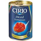 Picture of CIRIO DICED TOMATOES 400G