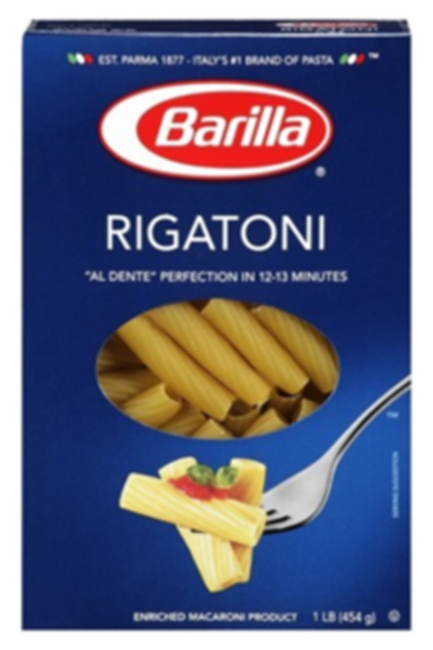 Picture of BARILLA RIGATONI 500G