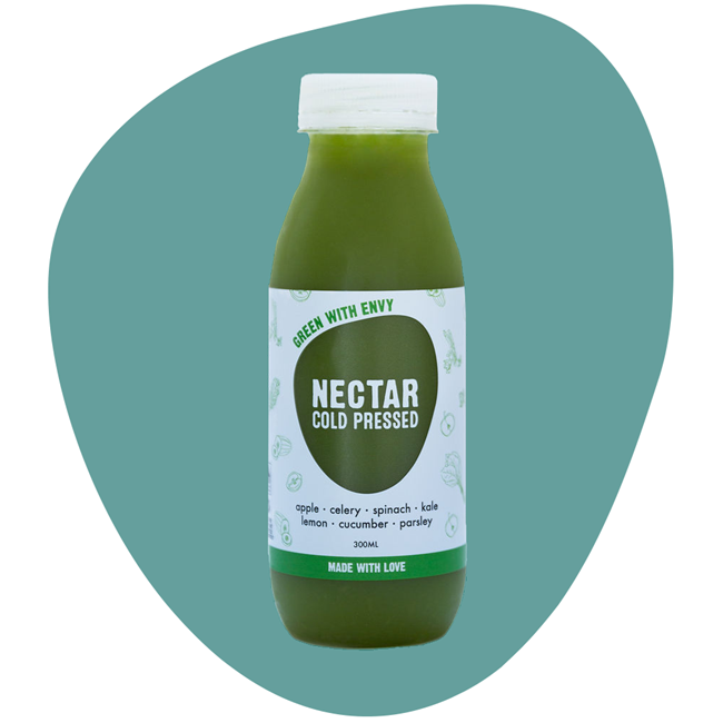 Picture of COLD PRESSED JUICE 1.5L GREEN WITH ENVY